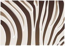 Zebramuster Stockfotografie