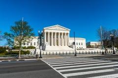 Zebrapad aan het Hooggerechtshof van Verenigde Staten royalty-vrije stock foto's