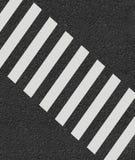 Zebrapad het minimale stijl 3d teruggeven stock illustratie