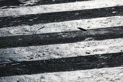 Zebrapaddetail, Straat Royalty-vrije Stock Foto