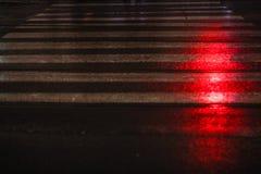 Zebrastreifen in der des Jerusalems Straße Lizenzfreie Stockfotografie
