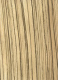 Zebrawoodfurnier-blattbeschaffenheit Stockfotografie