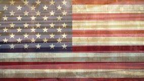 zebry skrzyżowanie z flagą amerykańską zdjęcie wideo