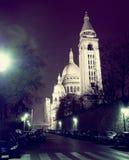 Zebry skrzyżowanie w Montmartre Obrazy Stock