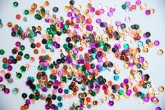 Zecchini colorati Immagini Stock Libere da Diritti