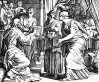 Zechariah: 'Är hans namn John Royaltyfria Foton