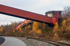 Zeche Zollverein 图库摄影