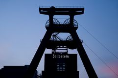 zeche zollverein Στοκ φωτογραφία με δικαίωμα ελεύθερης χρήσης