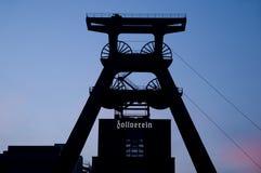 zeche zollverein 免版税库存照片