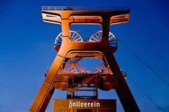 Zeche Zollverein Stock Photography