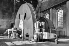 Zeche Zollverein, Essen, Germany. ESSEN, GERMANY - APRIL 7, 2019: Detail image of Zeche Zollverein, industrial heritage of Germany on April 7, 2019 in Essen royalty free stock images