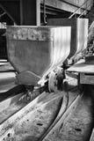 Zeche Zollverein, Essen, Germany. ESSEN, GERMANY - APRIL 7, 2019: Detail image of Zeche Zollverein, industrial heritage of Germany on April 7, 2019 in Essen royalty free stock image