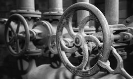 Zeche Zollverein, Essen, Germany. ESSEN, GERMANY - APRIL 7, 2019: Detail image of Zeche Zollverein, industrial heritage of Germany on April 7, 2019 in Essen royalty free stock photography