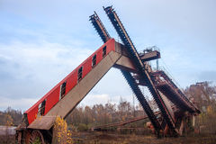 Zeche Zollverein kolgruva Royaltyfria Foton