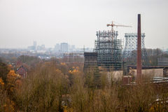 Zeche Zollverein kolgruva Royaltyfri Bild