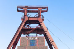 Zeche Zollverein Royalty Free Stock Photography