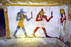 Zed amun tomb Stock Images