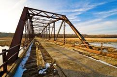 Zeder-Alleen-Brücke Lizenzfreie Stockfotos