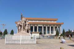 zedong мемориала mao залы стоковые фотографии rf