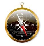Zee kompas royalty-vrije illustratie