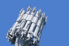 Zee reactief kanon royalty-vrije stock afbeeldingen