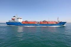 Zee- vrachtschepen royalty-vrije stock foto's