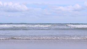 Zeebekken in de oceaan stock videobeelden