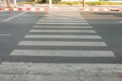 Zeebra crossing Stock Photos