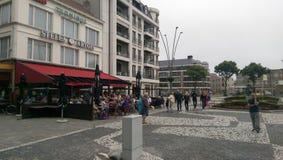 Zeebruge Belgien Fotografering för Bildbyråer