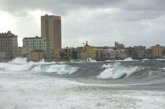 Zeedijk, Havana royalty-vrije stock foto's