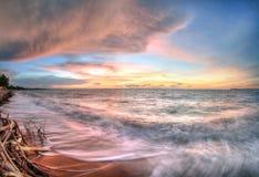 Zeegezicht in Fannie Bay, Noordelijk Grondgebied, Australië stock foto