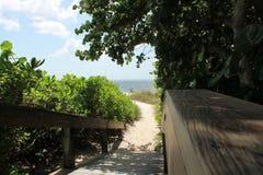 Zeegezicht het Zuid- van Florida Royalty-vrije Stock Foto's