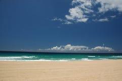 Zeegezicht in Kauai royalty-vrije stock fotografie