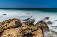 Zeegezicht Kreta, Griekenland Royalty-vrije Stock Foto