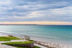 Zeegezicht in Port Fairy Victoria Australia royalty-vrije stock afbeeldingen