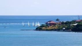 Zeegezicht St Croix, USVI Royalty-vrije Stock Afbeelding