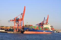 Zeehaven Stock Foto