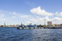 Zeehaven Stock Afbeelding