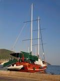 Zeehaven Marmaris Turkije Royalty-vrije Stock Fotografie