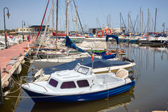 Zeehaven in Spanje, Gvardemar del Segura Stock Foto