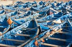Zeehaven van Essaouira, Marokko Stock Fotografie