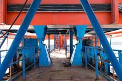 Zeehavenkraan Stock Fotografie
