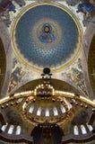Zeekathedraal in Kronshtadt, heilige-Petersburg, Rusland Stock Foto's