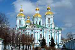 Zeekathedraal van St. Nicholas Royalty-vrije Stock Fotografie