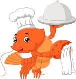 Zeekreeftbeeldverhaal vector illustratie