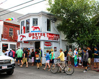 Zeekreeftpot, Provincetown, doctorandus in de letteren royalty-vrije stock foto