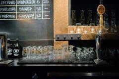 Zeeks薄饼被分类的啤酒酒吧 图库摄影