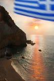 zeekust stock afbeeldingen