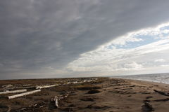 Zeekust Stock Foto