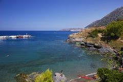 Zeekust in Bali op het eiland van Kreta Royalty-vrije Stock Foto